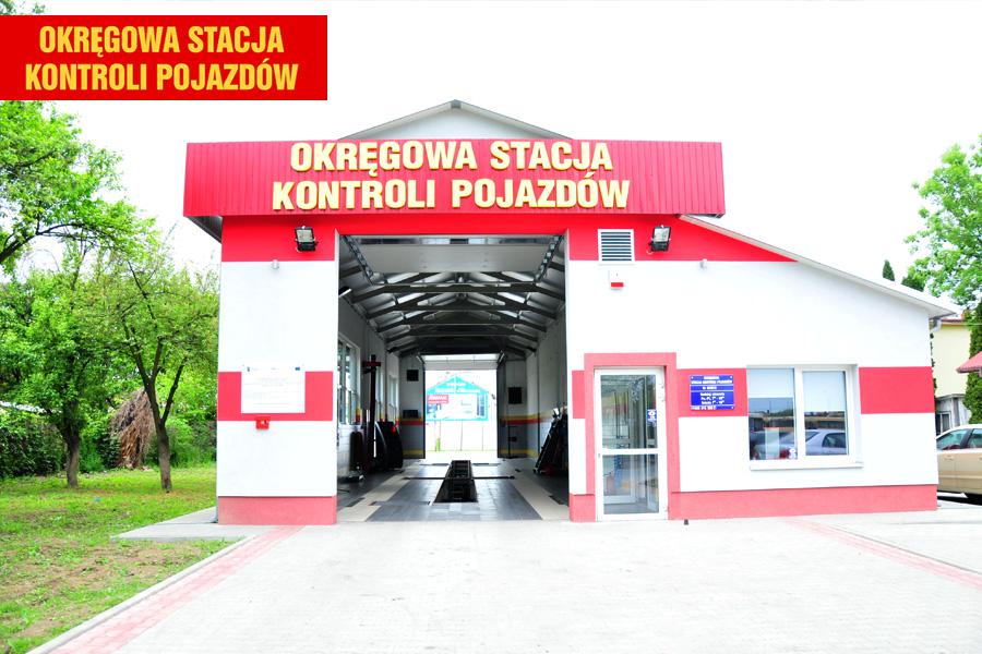 Stacja kontroli pojazdów w Przemyślu
