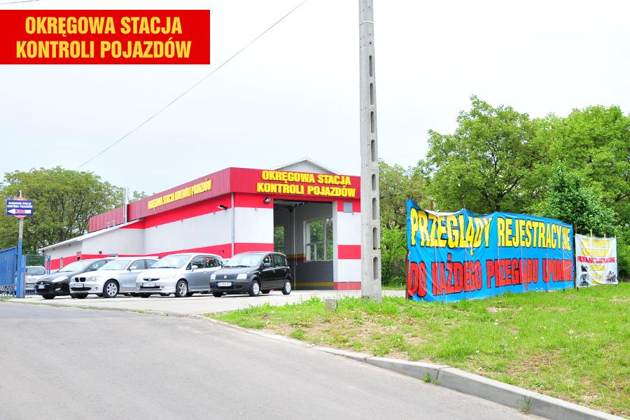 Okręgowa Stacja Kontroli Pojazdów w Przemyślu, gdzie wykonywane są m.in. okresowe badania techniczne